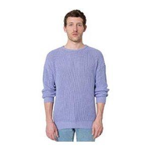 American Apparel Fisherman Sweater - Lilac